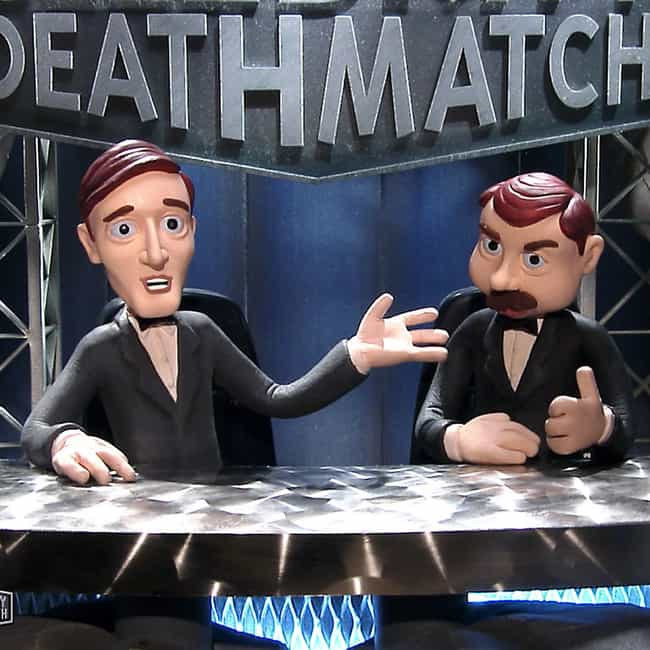 Celebrity Deathmatch is listed (or ranked) 3 on the list The Best 1990s Dark Comedy TV Shows