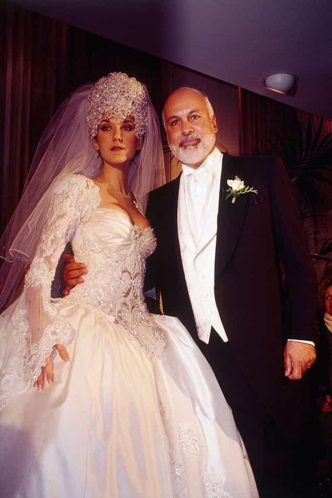 Celine Dion is listed (or ranked) 6 on the list 31 of the Wackiest Celebrity Wedding Gowns