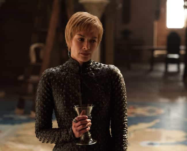 Cersei Lannister is listed (or ranked) 4 on the list Where Every 'Game of Thrones' Character Is At The Beginning Of Season 8