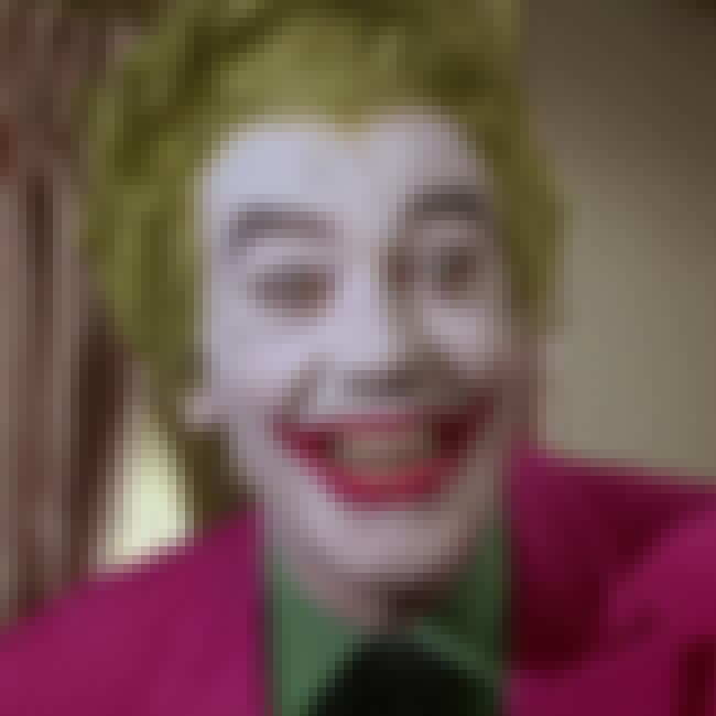 Cesar Romero is listed (or ranked) 4 on the list The Best Actors Who Played Joker, Ranked