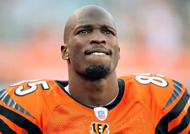 Chad Ochocinco is listed (or ranked) 3 on the list Athletes Charged with Domestic Violence