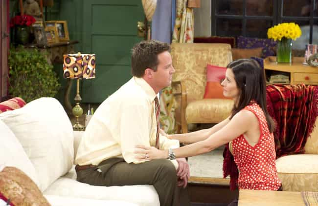 Chandler Bing is listed (or ranked) 1 on the list 16 Unexpected TV Couples No One Predicted