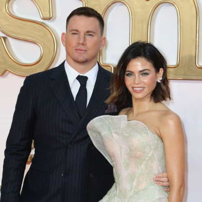 Channing Tatum is listed (or ranked) 2 on the list Jenna Dewan Loves and Hookups