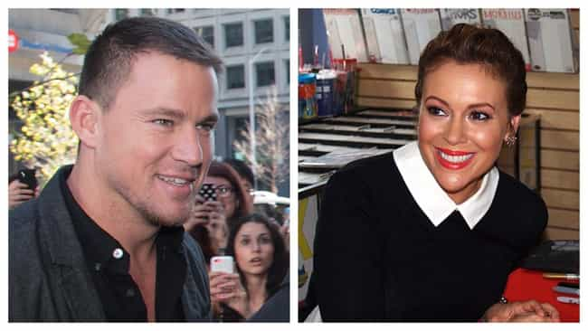 Channing Tatum is listed (or ranked) 5 on the list Celebrities' First Celebrity Crushes From Before They Were Famous