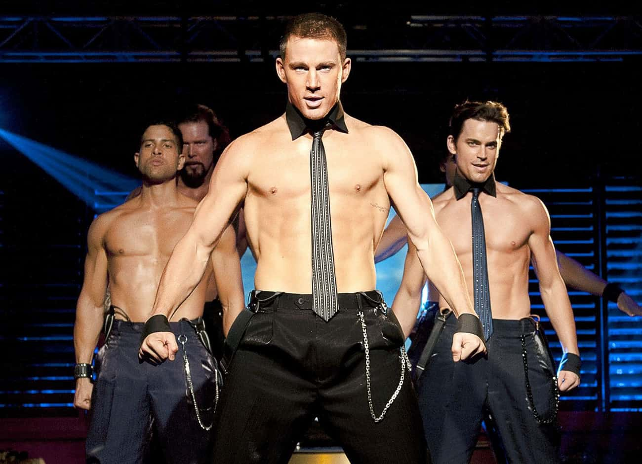 Channing Tatum is listed (or ranked) 4 on the list Male Actors Who Are Definitely Taking Off Their Shirt In Movies