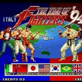 The King of Fighters '94 is listed (or ranked) 25 on the list The Best Neo Geo Fighting Games
