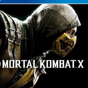 Mortal Kombat is listed (or ranked) 5 on the list Video Games All Basic Bros Love