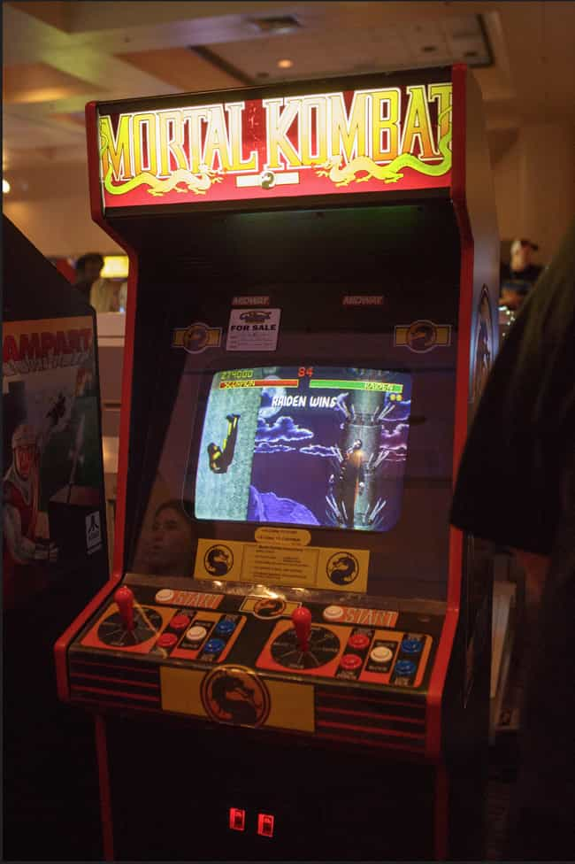 Mortal Kombat is listed (or ranked) 1 on the list The Coolest Arcade Game Cabinet Art Ever!