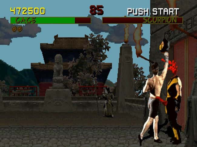 Mortal Kombat is listed (or ranked) 10 on the list Most Controversial Video Games That Have Ever Been Released