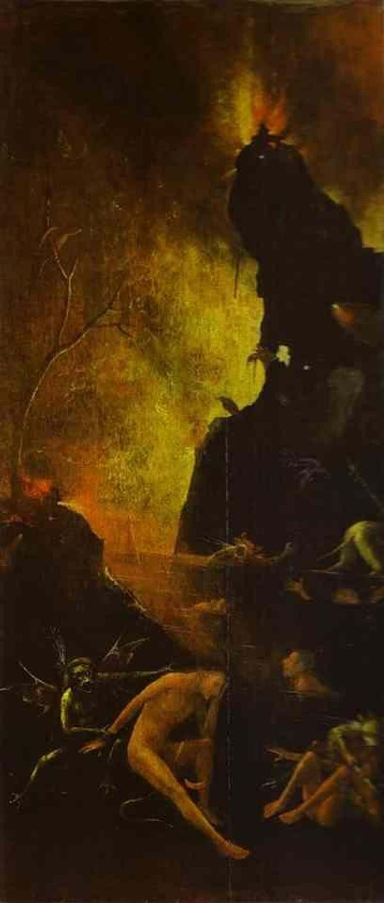 'Hell' By Hieronymus Bosch, c. is listed (or ranked) 1 on the list The Darkest Paintings From Art History Any Goth Will Appreciate