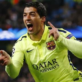 Luis Suárez is listed (or ranked) 18 on the list The Greatest South American Footballers of All Time