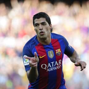 Luis Suárez is listed (or ranked) 1 on the list Famous Athletes from Uruguay