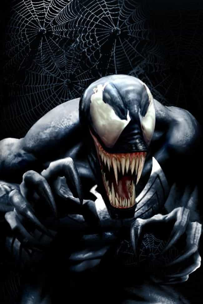Venom is listed (or ranked) 3 on the list The Spookiest Villains in Comics