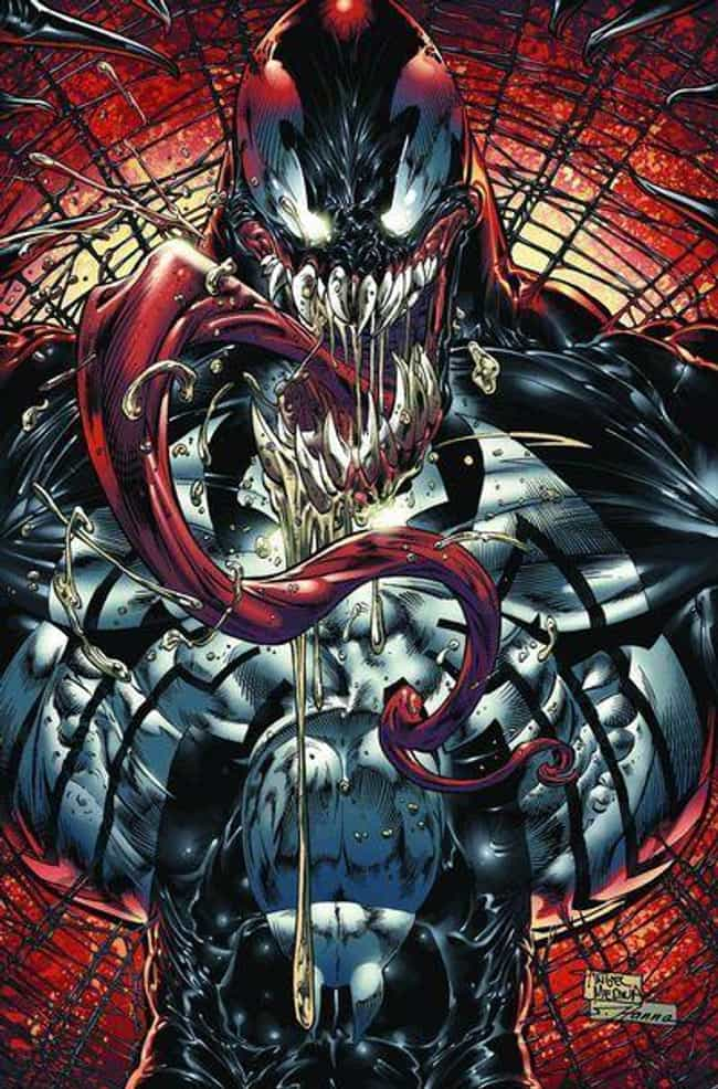 Venom is listed (or ranked) 3 on the list The Most Terrifying & Scariest Villains In Comics