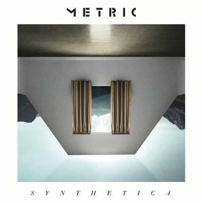 Synthetica is listed (or ranked) 3 on the list The Best Metric Albums, Ranked