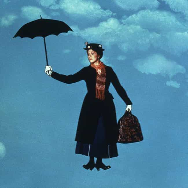 Mary Poppins is listed (or ranked) 2 on the list The Best First Roles Played by Your Favorite Actresses