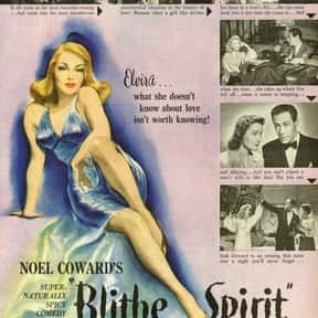 Blithe Spirit is listed (or ranked) 20 on the list The Best Romantic Comedies of the 1940s