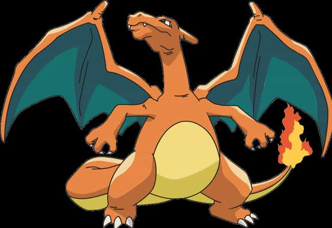 Charizard is listed (or ranked) 2 on the list 20 Giant, Fictional Things That Weigh Less Than The Rock
