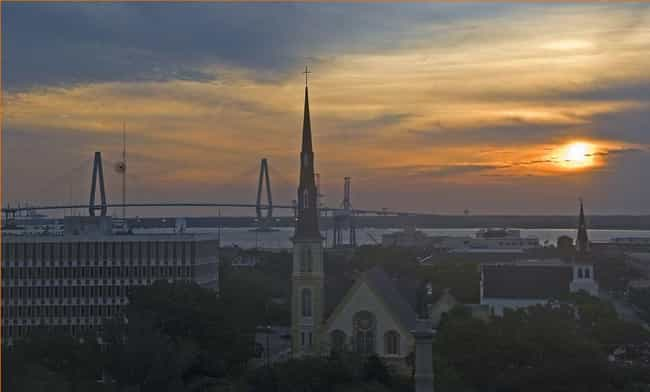 Charleston is listed (or ranked) 7 on the list The Most Beautiful Cities in the US