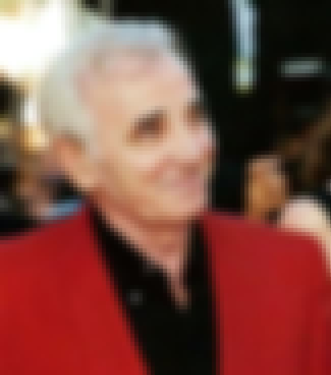 Charles Aznavour is listed (or ranked) 1 on the list Musicians Who Died in 2018