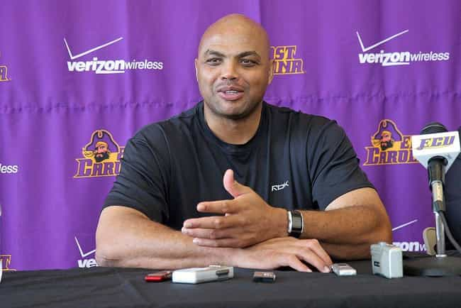 Charles Barkley is listed (or ranked) 4 on the list 26 Athletes Who Quit Drinking