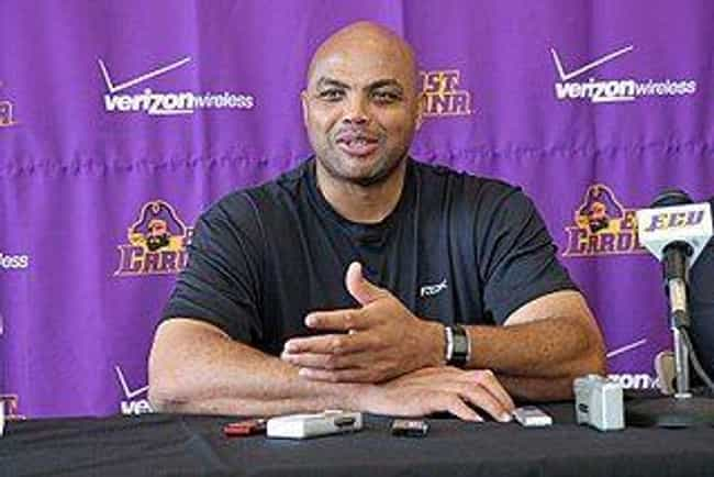 Charles Barkley is listed (or ranked) 4 on the list 26 Athletes Who Are Rappers