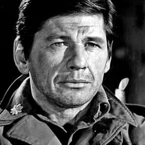 Charles Bronson is listed (or ranked) 14 on the list Famous People Who Died Of Pneumonia