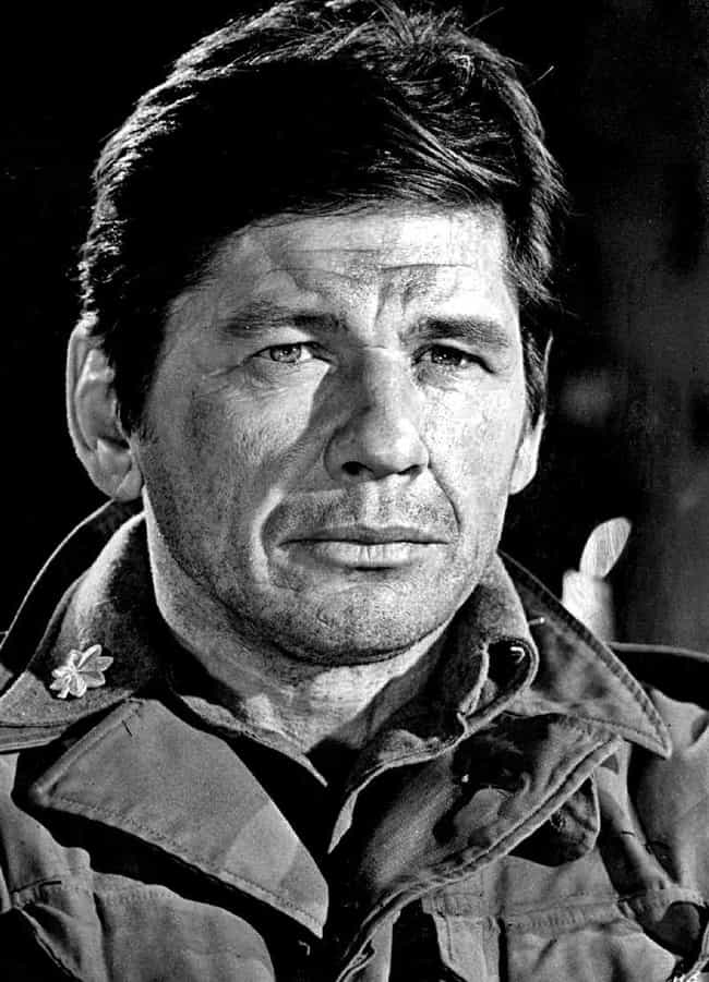 Charles Bronson is listed (or ranked) 3 on the list Famous People Born in 1921