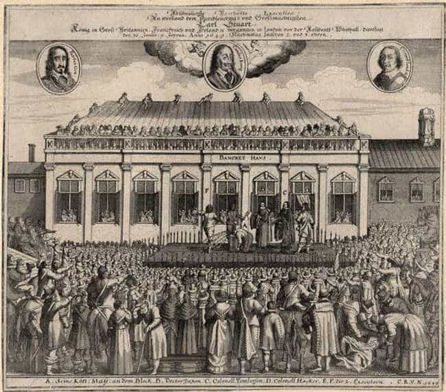 Charles I of England is listed (or ranked) 3 on the list The 12 Most Influential Royal Assassinations In World History