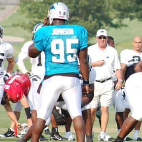 Charles Johnson is listed (or ranked) 22 on the list The Best Carolina Panthers of All Time