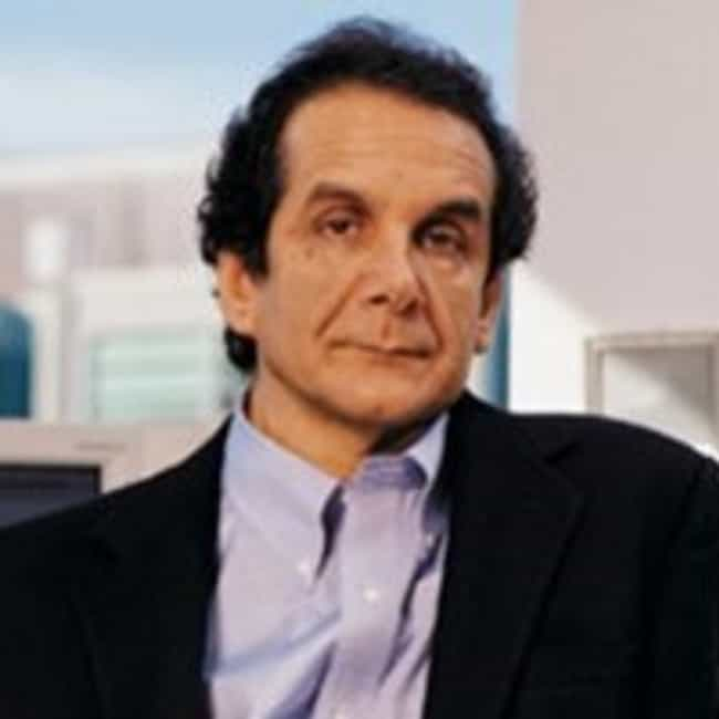 Charles Krauthammer is listed (or ranked) 2 on the list Famous Male Psychiatrists