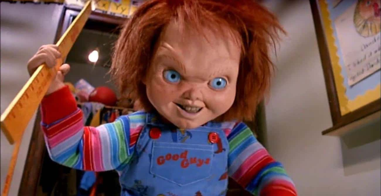 Chucky is listed (or ranked) 3 on the list The Dumbest Horror Villain Origin Stories