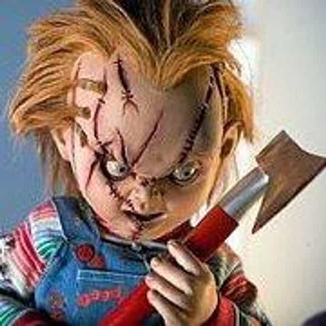 Chucky is listed (or ranked) 4 on the list The Most Utterly Terrifying Figures in Horror Films