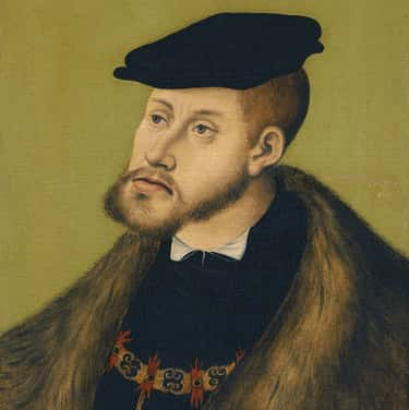 Charles V, Holy Roman Emperor is listed (or ranked) 1 on the list Members of the House Of Habsburg