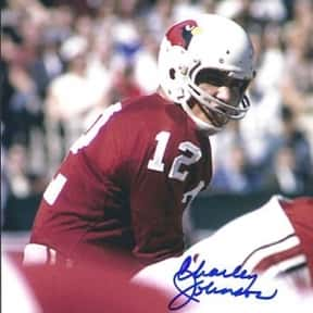 Charley Johnson is listed (or ranked) 13 on the list The Best Arizona Cardinals Quarterbacks of All Time