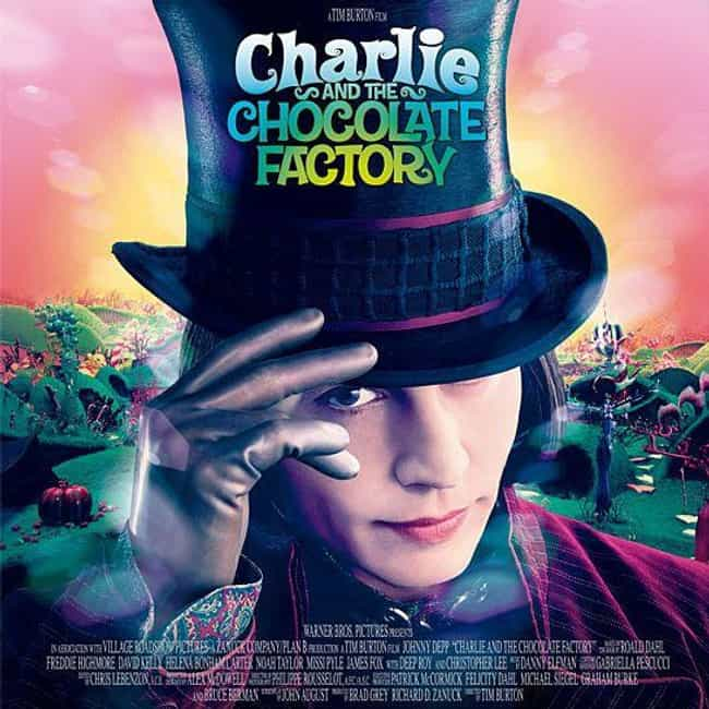 Charlie and the Chocolat... is listed (or ranked) 2 on the list The Most Colorful Movies Ever Made