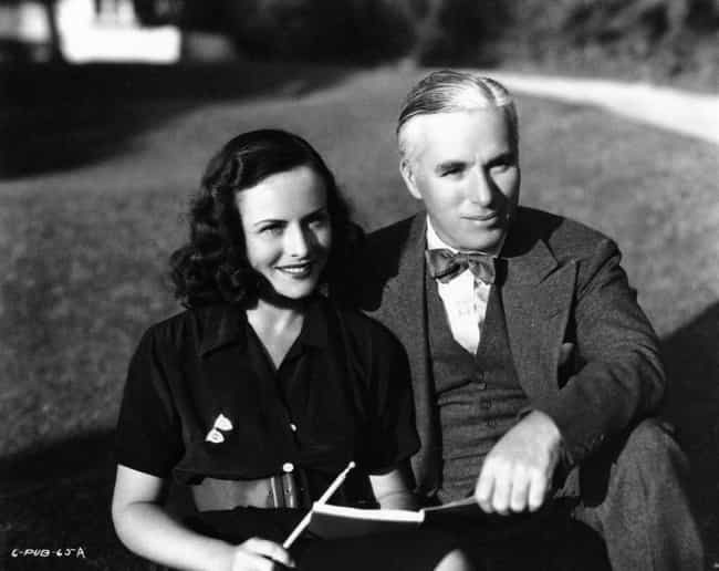 Charlie Chaplin is listed (or ranked) 4 on the list 49 Famous Couples with Huge Age Differences