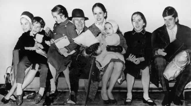 Charlie Chaplin is listed (or ranked) 8 on the list 17 Celebrities with Kids Born Decades Apart