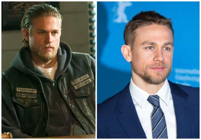Charlie Hunnam is listed (or ranked) 1 on the list What The Major Players On Sons Of Anarchy Are Up To Now