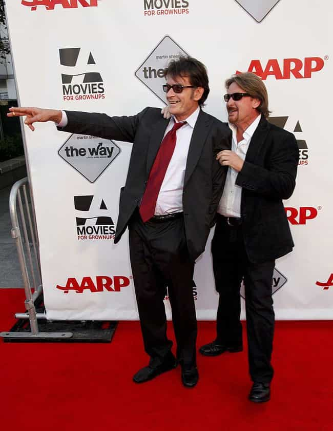 Charlie Sheen is listed (or ranked) 2 on the list Celebrities You Might Not Know Are Siblings
