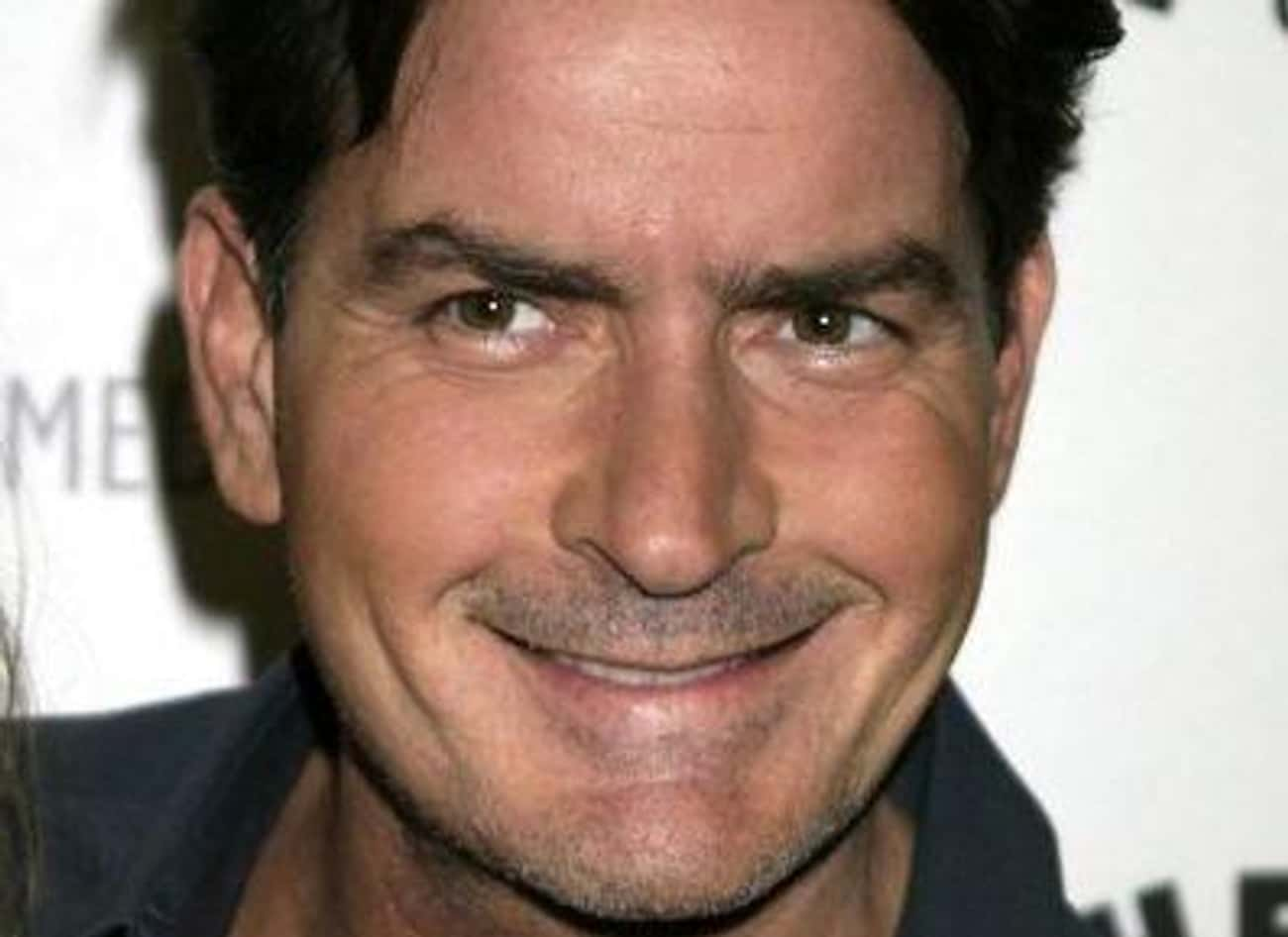 Charlie Sheen is listed (or ranked) 3 on the list Famous People Born in 1965