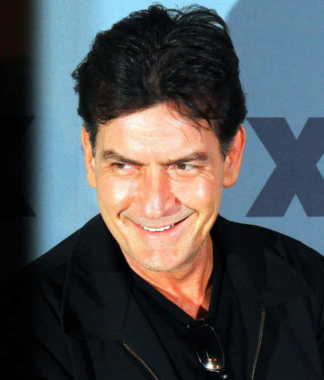 Charlie Sheen is listed (or ranked) 4 on the list 11 Celebrities Who Make Potential Lovers Sign an NDA