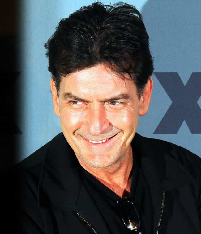 Charlie Sheen is listed (or ranked) 4 on the list 26 Famous People Who Were Kicked Out of School