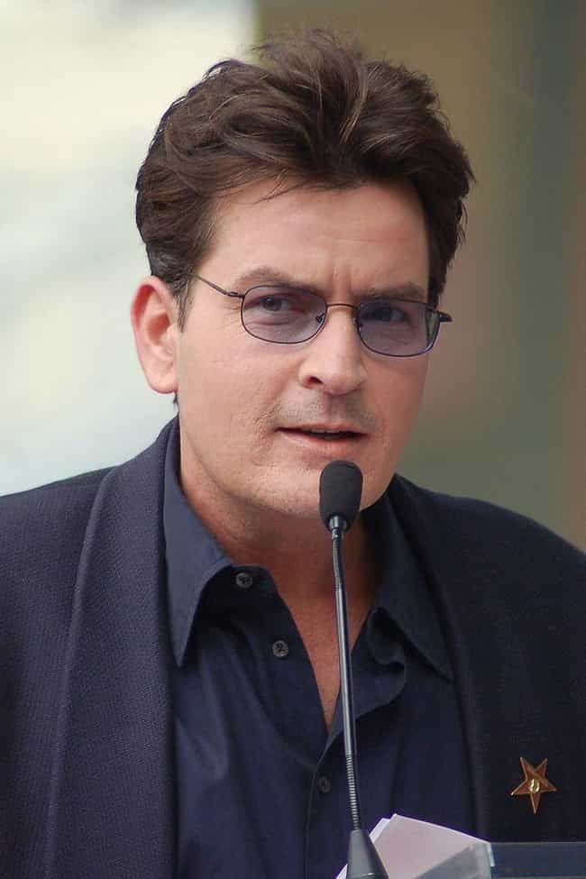 Charlie Sheen is listed (or ranked) 3 on the list Famous Children of Alcoholics