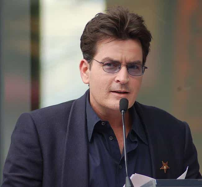 Charlie Sheen is listed (or ranked) 4 on the list 20 Famous People Who Converted Religions