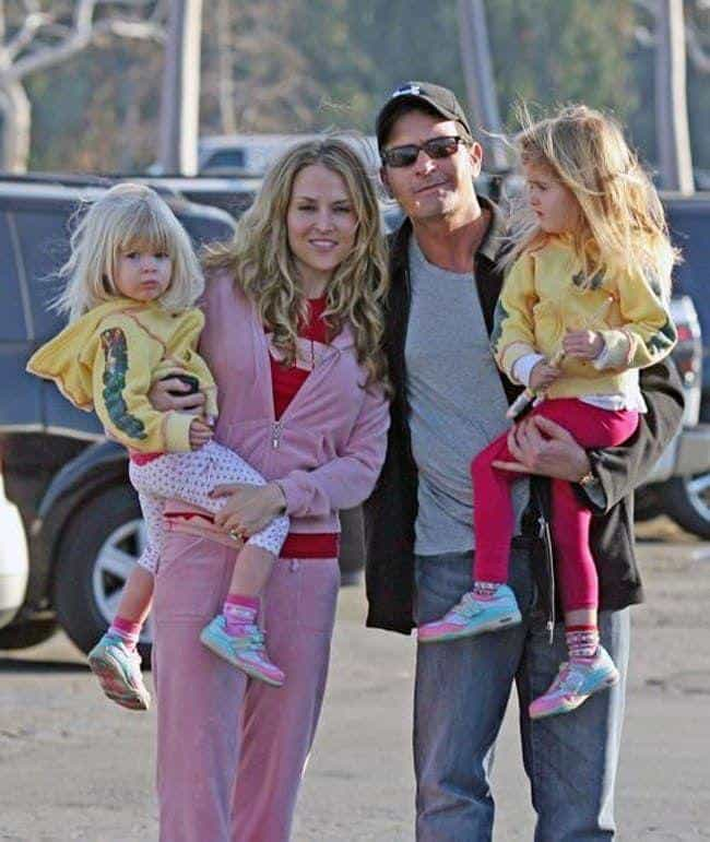 Charlie Sheen is listed (or ranked) 3 on the list 40+ Celebrities Who Have Kids with 3 or More People