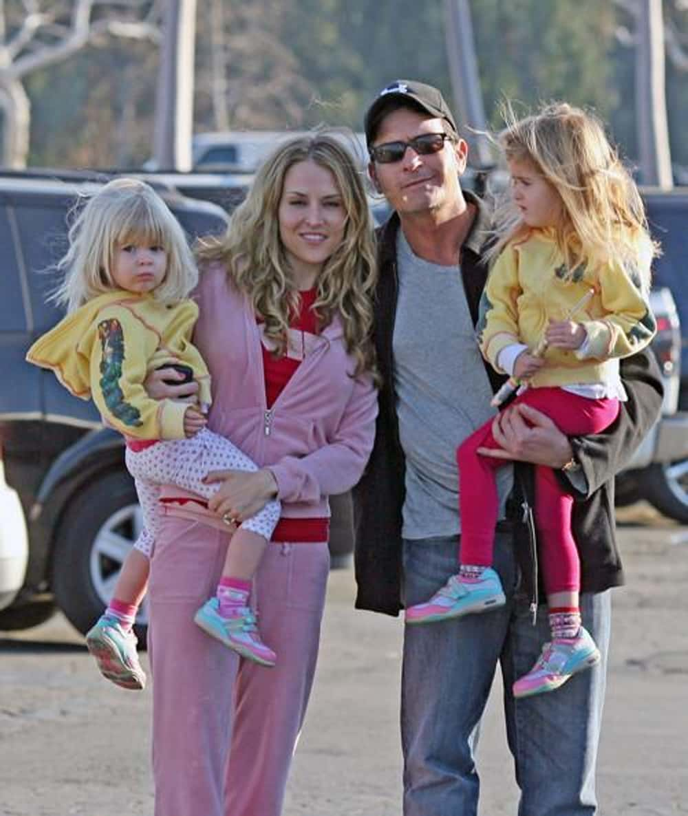 Charlie Sheen is listed (or ranked) 1 on the list 40+ Celebrities Who Have Kids with 3 or More People