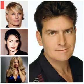 Charlie Sheen is listed (or ranked) 1 on the list The Biggest Manwhores in the Entertainment Industry