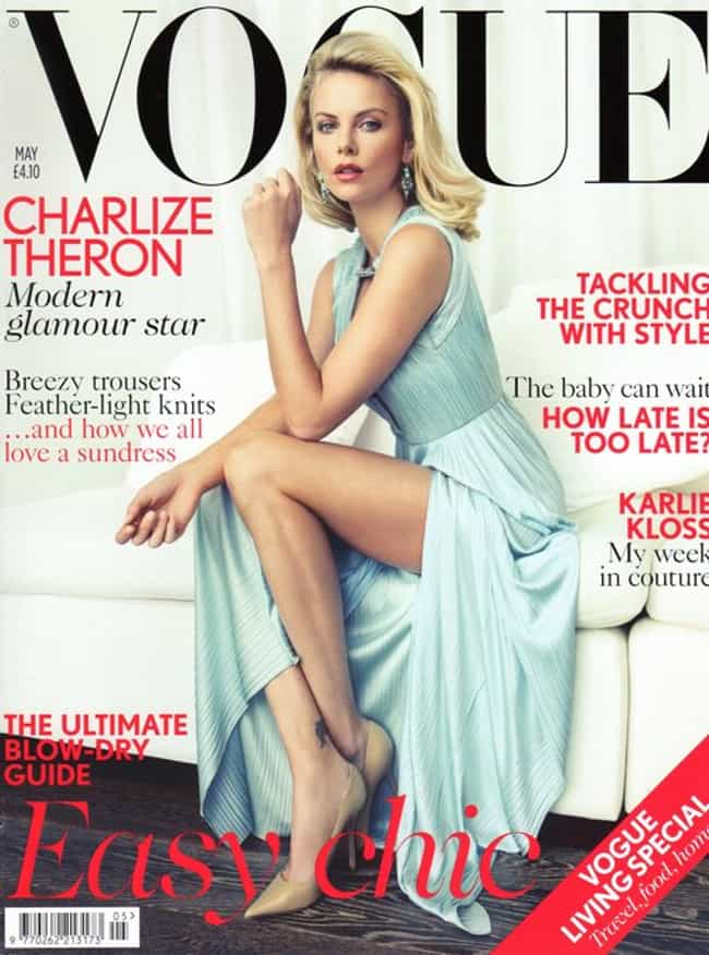 Charlize Theron is listed (or ranked) 2 on the list The Best Vogue Magazine Covers