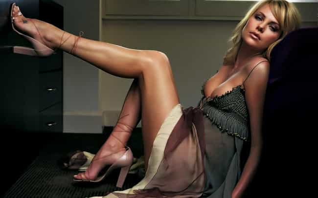 Charlize Theron is listed (or ranked) 4 on the list Which Celeb Has The Most Beautiful Legs?